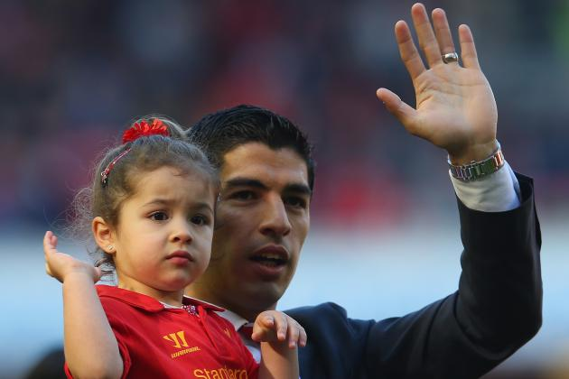 Liverpool Transfer News: Luis Suarez Comments on Possible Move, Life in England
