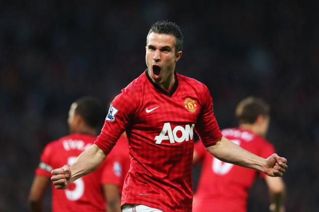Analysing Robin van Persie's 2012-13 Contribution for Manchester United