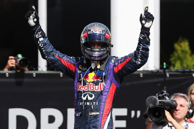 Red Bull, Vettel Agree to Extension Through 2015