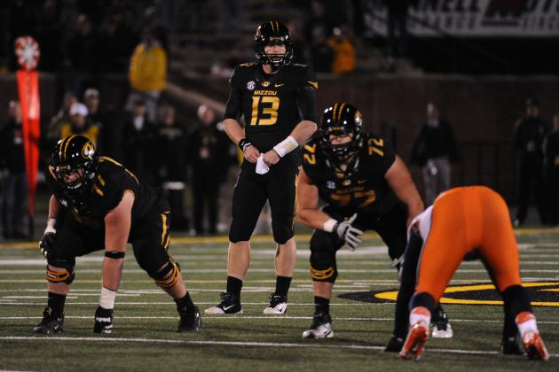 Mizzou Football Recognized for Academic Achievement