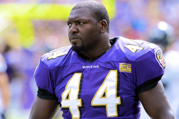 Vonta Leach Released by Super Bowl Champion Baltimore Ravens