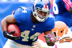 Colts Sign Former Giants' RB Ahmad Bradshaw