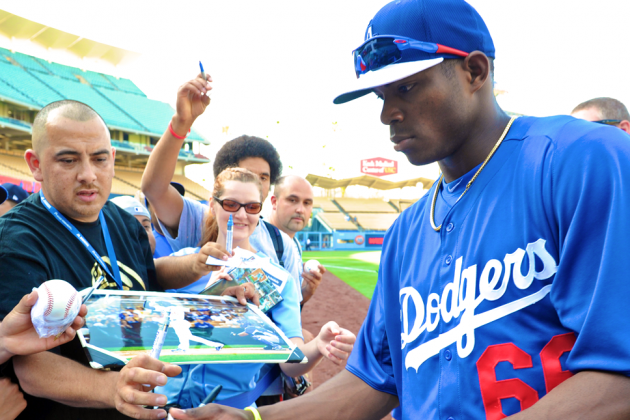 Yasiel Puig Phenomenon Is Igniting the Dodgers, City of Los Angeles