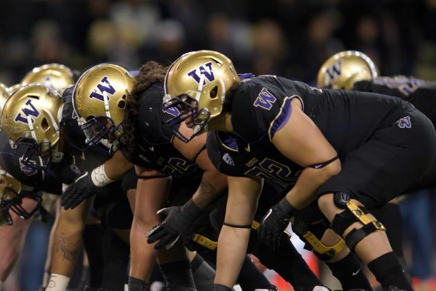 Huskies Fare Well in Offensive Line Returning Starts