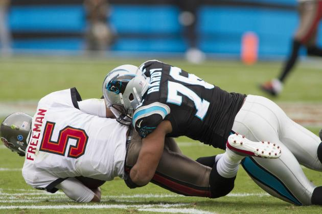 Panthers' Hardy Sets Lofty Goal of 50 Sacks