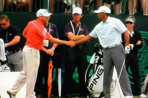 Tiger Woods, Sergio Garcia Didn't Talk 'Fried Chicken' Remark During Handshake