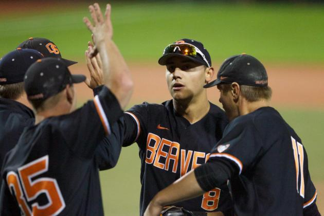 Beavers Advance to College World Series with 4-3 Win over Wildcats