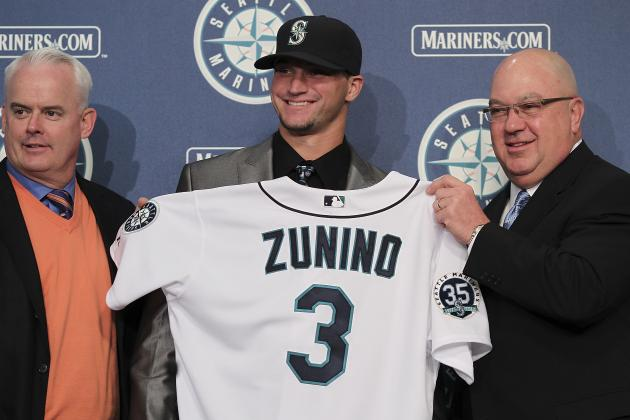 Report: Mariners Call Up 2012 No. 3 Overall Pick Zunino
