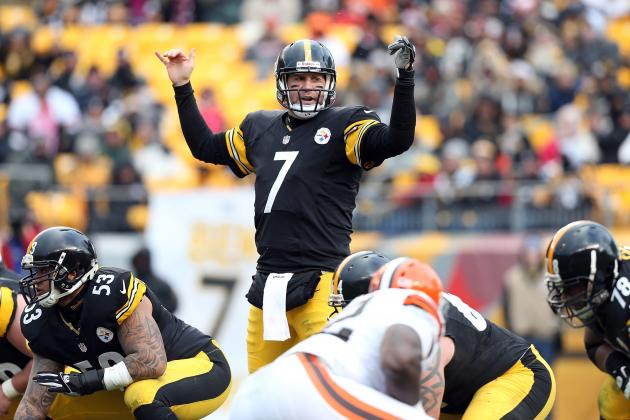 Roethlisberger on Knee: 'Could Play Sunday If I Had To'