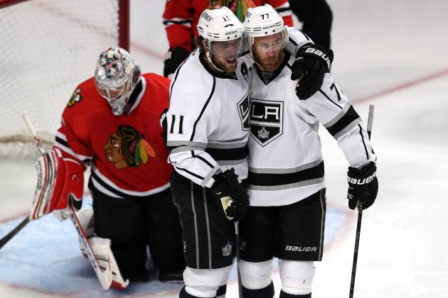 Kopitar Finds Himself Just as Kings Are Lost