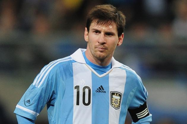Messi on the Bench for Ecuador WCQ