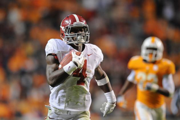 Why Running Backs Will Dominate SEC Football in 2013