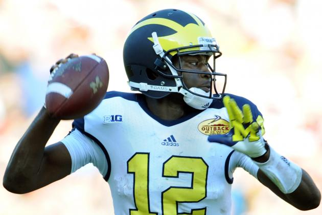 Devin Gardner: Michigan Is 'pissed off After Its 2012 Finish