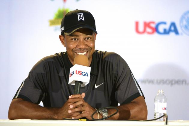 Tiger Woods' Niece, Cheyenne, Crashes His Press Conference, Gets Dinner Date