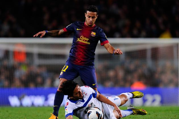 Manchester United: Why Barcelona Midfielder Thiago Alcantara is an Ideal Fit