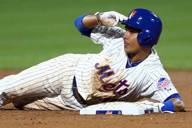 Ruben Tejada Runs for the First Time Since Quadriceps Injury