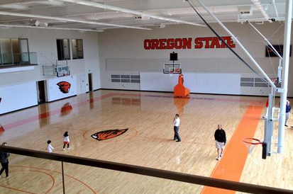Photos: Oregon State Unveils State-of-the-Art Basketball Practice Facility