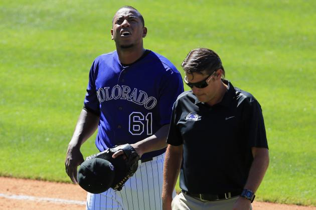 Rockies move reliever Edgmer Escalona to DL, call up Josh Outman