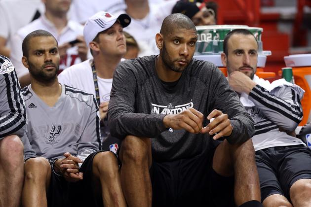 Tim Duncan and Tony Parker Miss Game 3 Warmups Stuck in Traffic