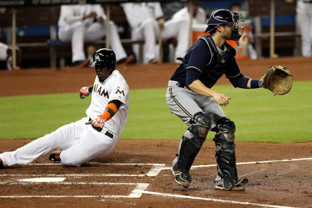 Marlins 5, Brewers 4