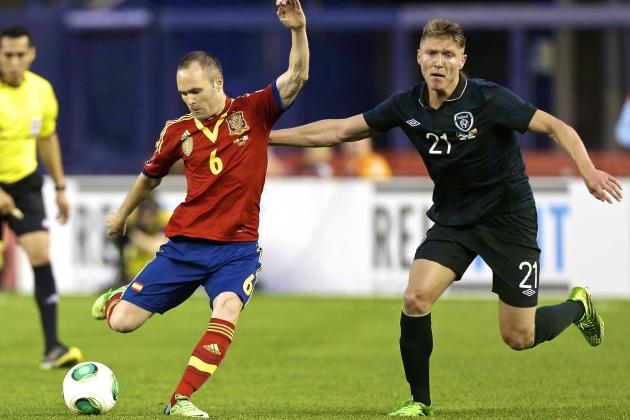 Spain vs. Ireland: Score, Grades and Post-Match Reaction