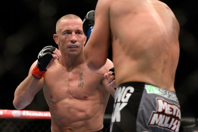 Georges St-Pierre Possible for Fall Return: Is He Waiting for Anderson Silva?