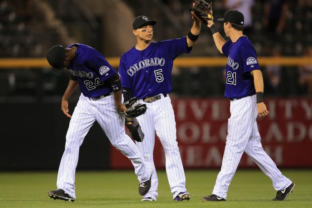 CarGo, Colvin Carry Rockies to Victory over Washington Nationals