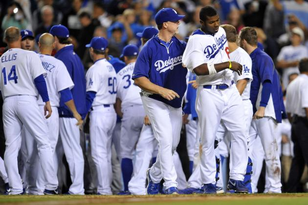 Yasiel Puig Among 5 Players Ejected in Dodgers-Diamondbacks Brawl