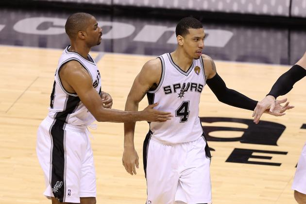 VIDEO: All 16 of the Spurs' 3-Pointers in Their Game 3 Romp