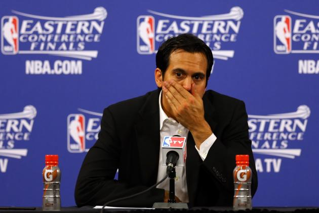 Erik Spoelstra After Game 3 Meltdown: 'We Got What We Deserved'