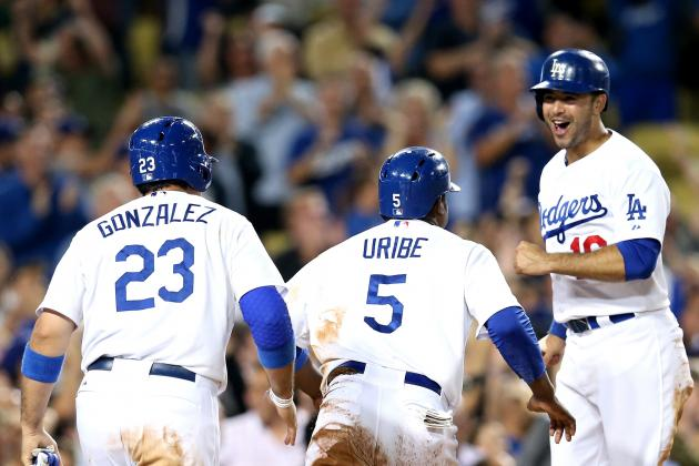 Dodgers Win After Head-Banger Brawl