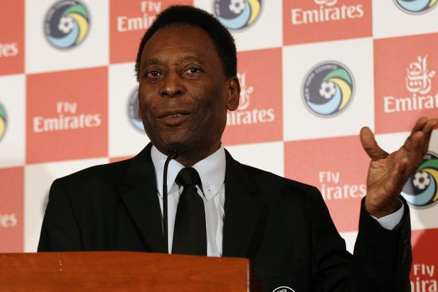 Pele Asks Brazilians Not to Boo National Team