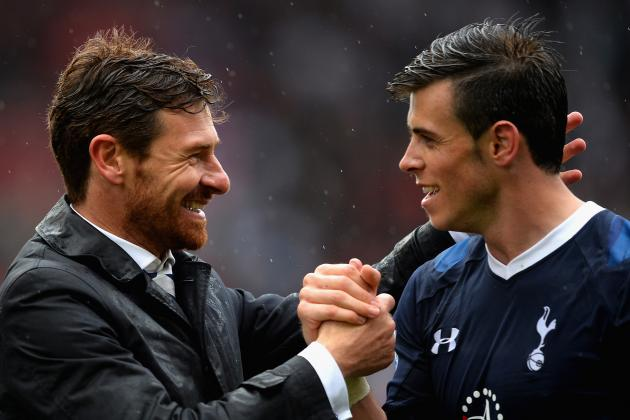 Villas-Boas Link with PSG Would Leave Doubt over Gareth Bale's Tottenham Future