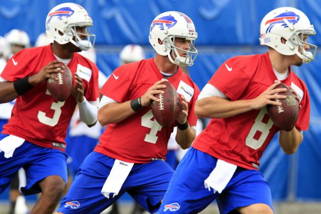 Marrone Called 3 a Crowd in Bills' QB Competition