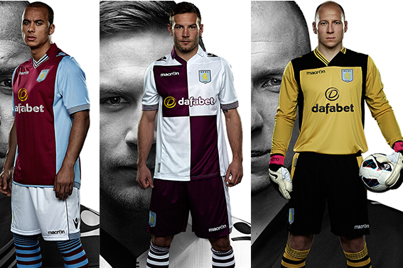 New Home and Away Kits for 2013-14 Season Revealed