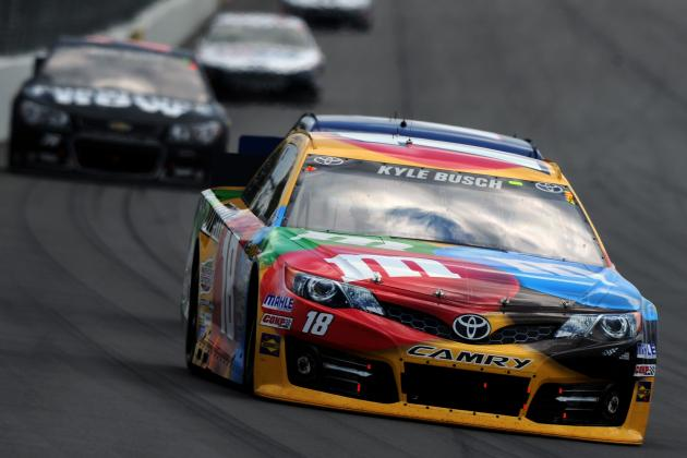 Kyle Busch Tops NASCAR Drivers in TV Time; Danica Not in Top 10