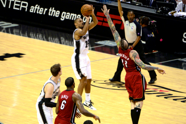 San Antonio Spurs Break NBA Finals Record for Most 3-Pointers in Game 3 Blowout