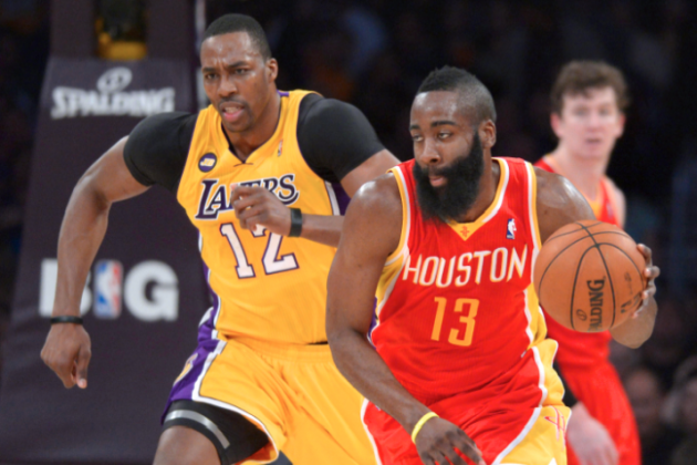Would James Harden-Dwight Howard Duo Catapult Rockets Into Title Picture?
