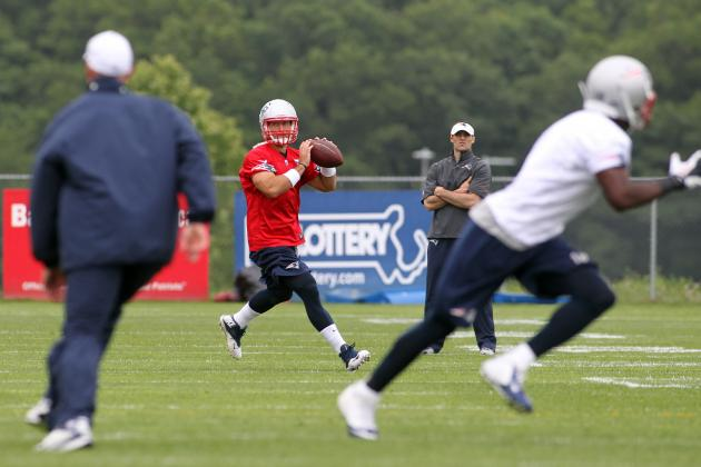 Tuesday Observations from Patriots Mini-Camp