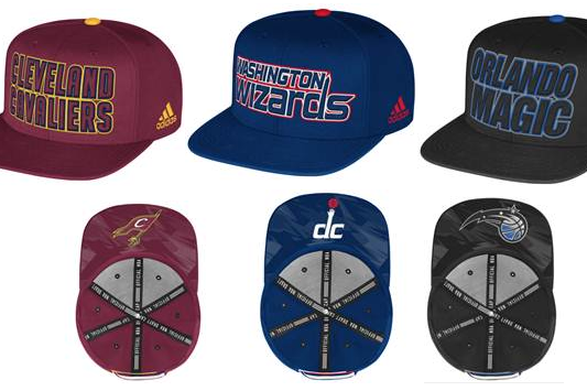 PHOTO: Official Adidas 2013 NBA Draft Caps Unveiled