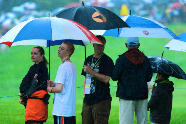 Rain Could Make 2013 US Open a Test of Survival