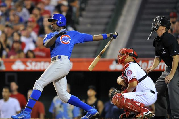 Alfonso Soriano out vs. Reds