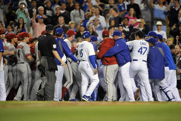Dodgers-Diamondbacks Brawl: Ian Kennedy Deserves Lengthy Ban for Actions