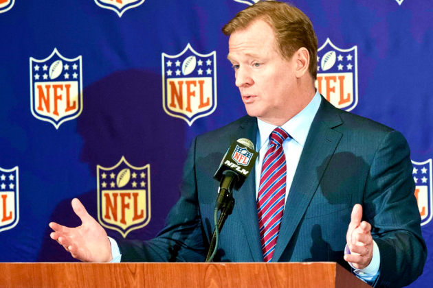 Roger Goodell Sends Letter to Congress Defending Washington Redskins' Name