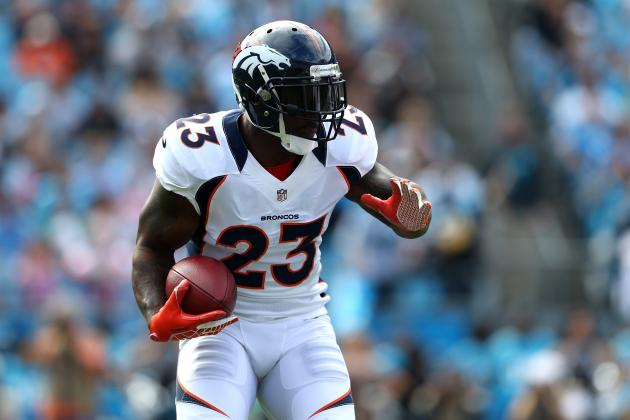 McGahee Back with Broncos but Mostly as Spectator
