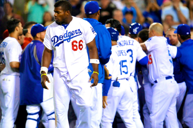 Dodgers-Diamondbacks Brawl Erupts After Ian Kennedy Drills Zack Greinke