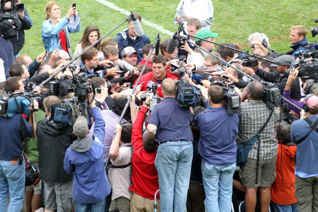 How Will the New England Patriots Handle Media Circus Around Tim Tebow?