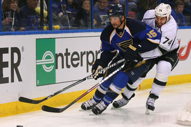 Report: Blues Won't Offer Langenbrunner New Deal