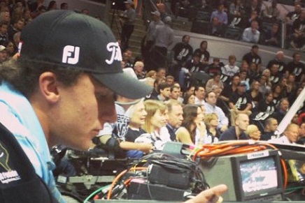 Johnny Manziel's Rich Parents Bought Him Front Row Seats to Spurs-Heat Game 3