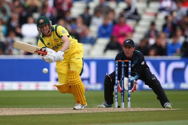 ICC Champions Trophy 2013: Australia vs. New Zealand Match Abandoned Due to Rain